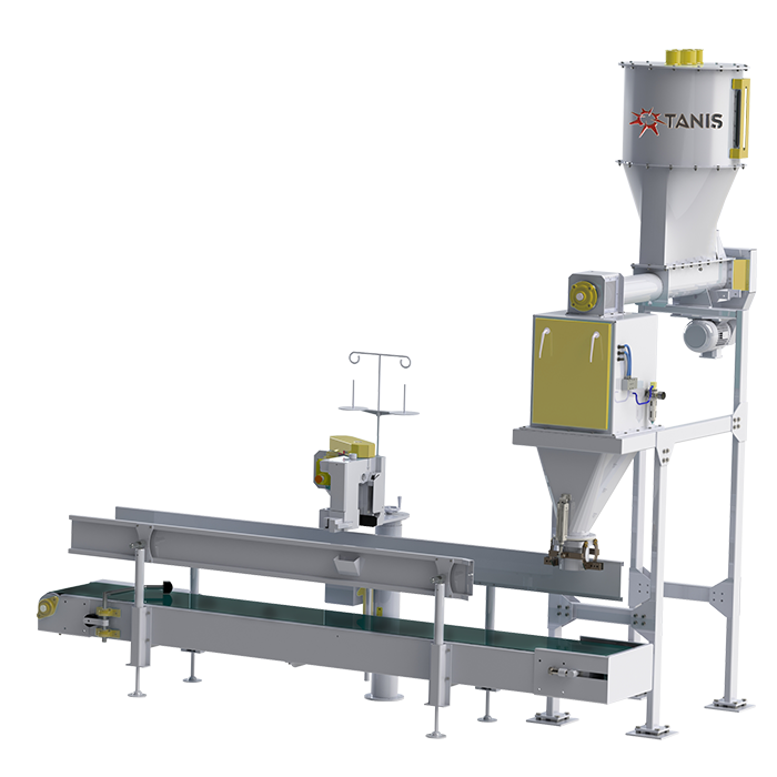 FLOUR PACKAGING MACHINE 5-10 KG SINGLE-DOUBLE WEIGHING
