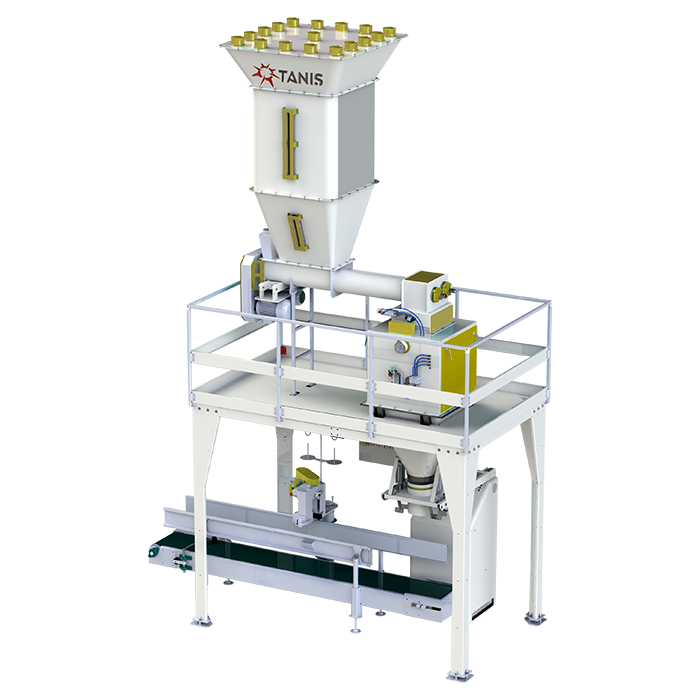 FLOUR AND BRAN PACKAGING MACHINE 25-50 KG SINGLE SCALE