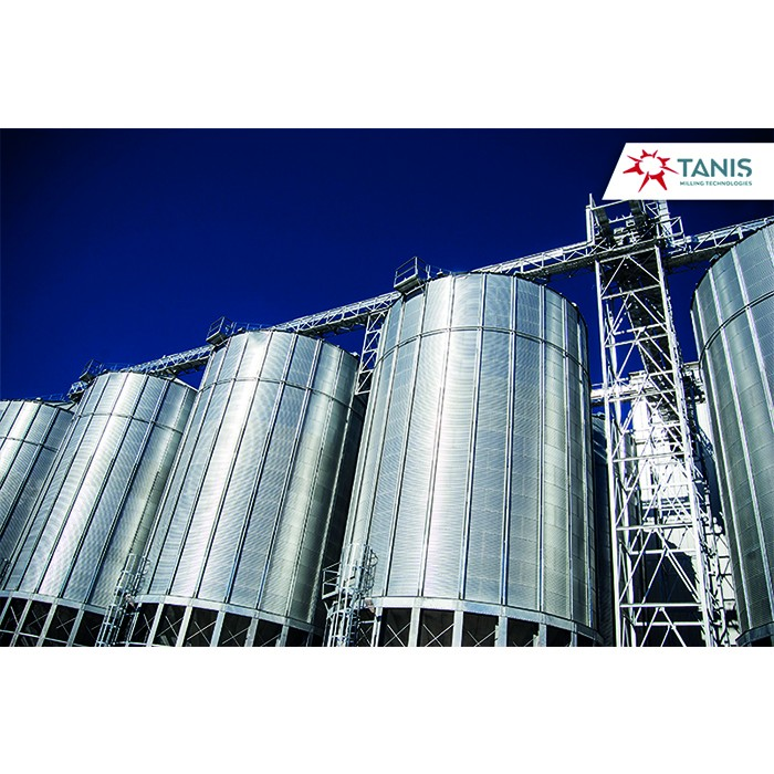 COMMERCIAL CONICAL BASE SILOS